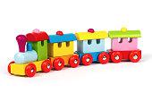 istock Wooden train 536815915