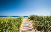 istock Wooden Walkway to the Beach 1272676641