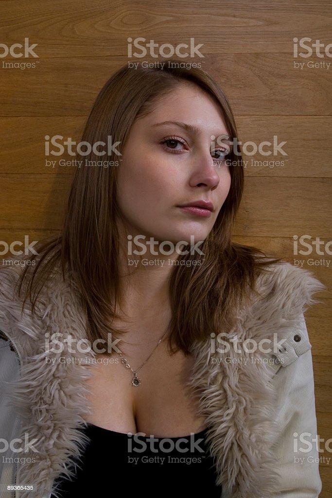 Parete in legno foto stock royalty-free
