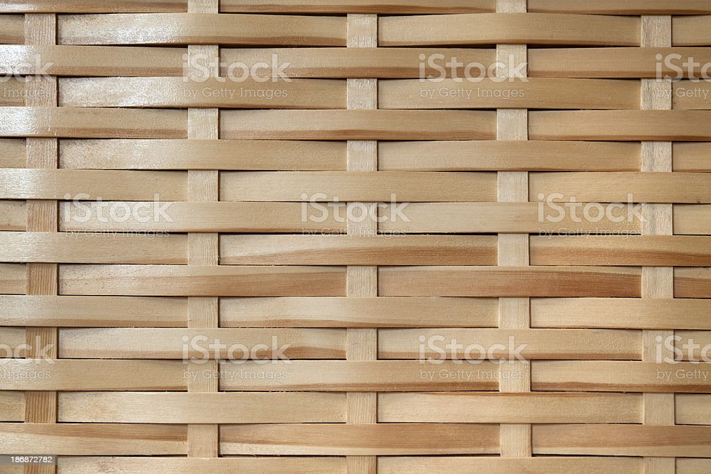 Wooden weave background royalty-free stock photo