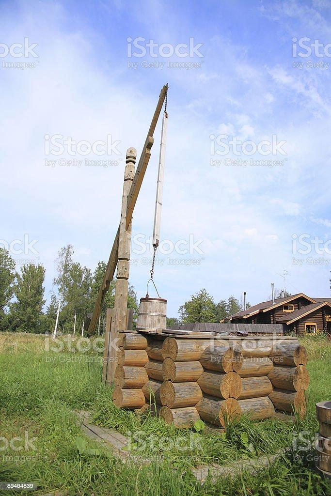 Bien en bois photo libre de droits