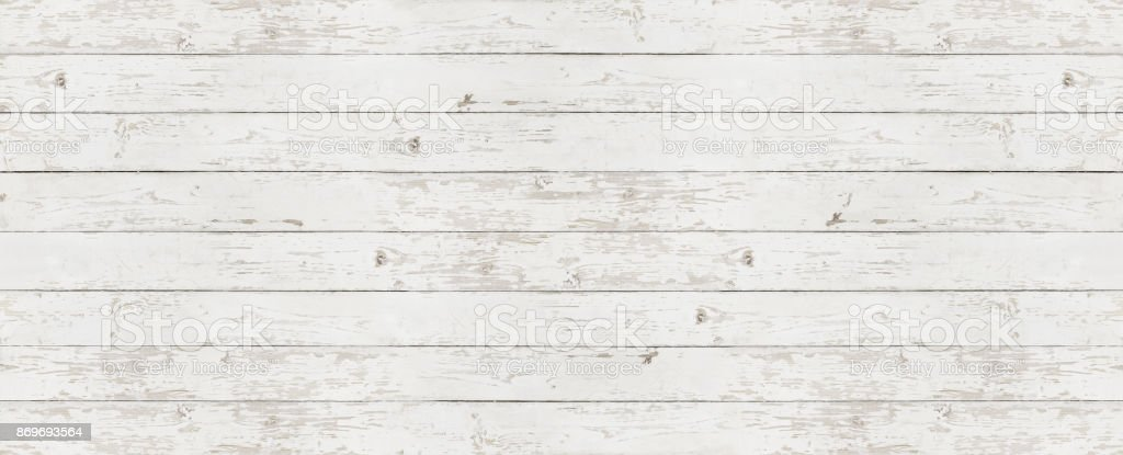 wooden white texture background, top view copy space template - foto stock