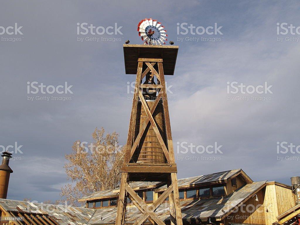 Водонапорная башня дикий запад