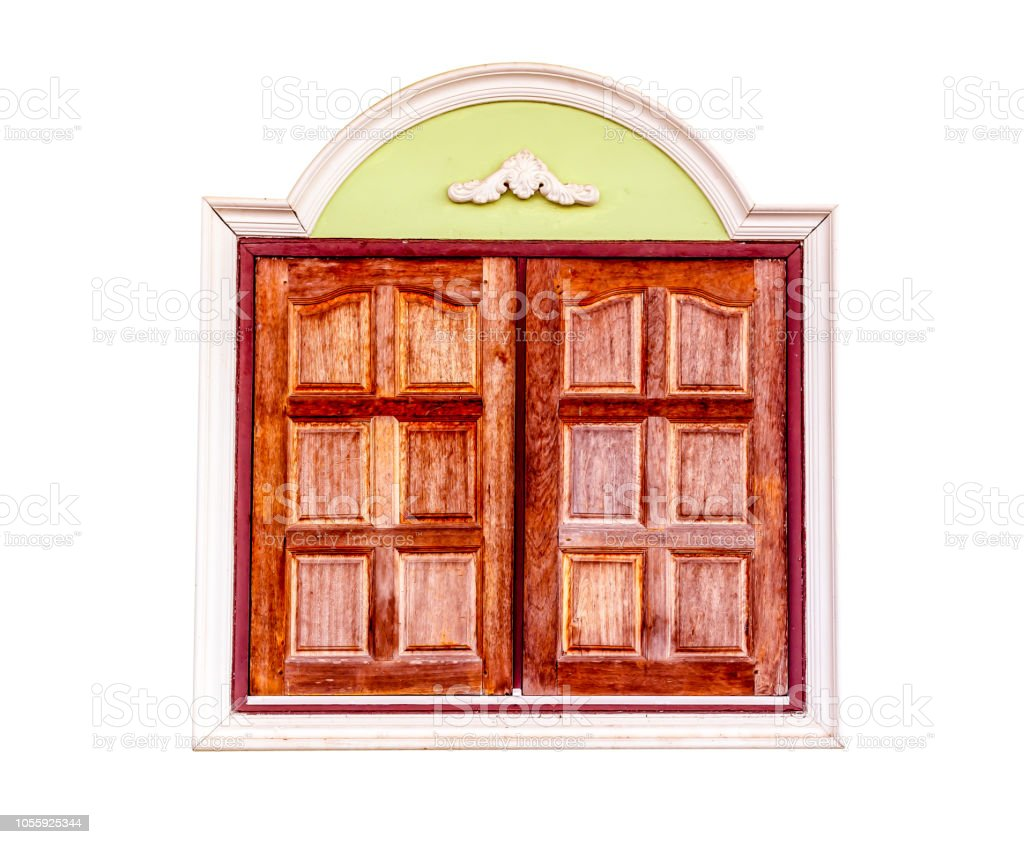 Wooden Window Frame Stock Photo   Download Image Now