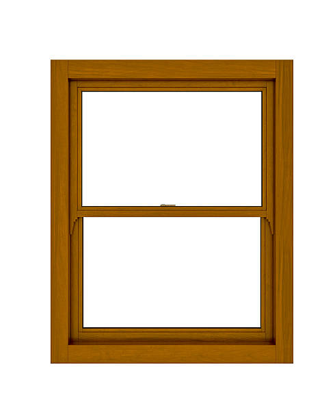 Wooden Window stock photo