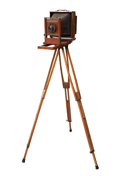 WoodenViewCamera stock photo
