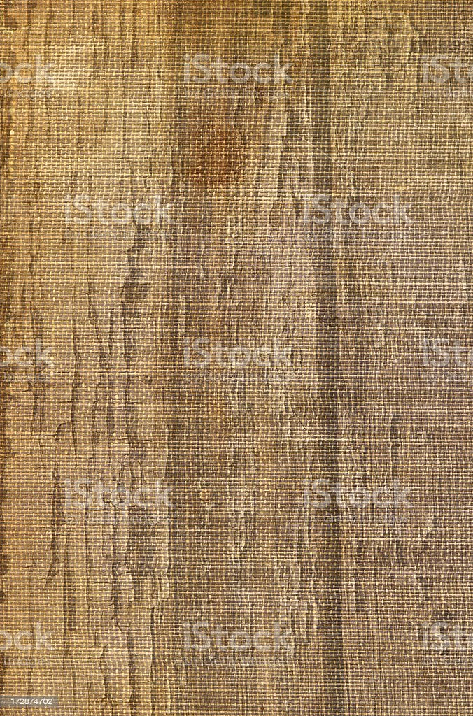 Woodgrain on Canvas royalty-free stock photo
