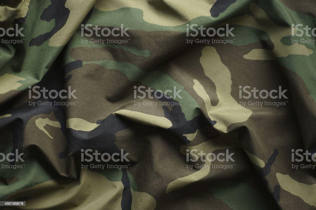 Woodland Camouflage stock photo