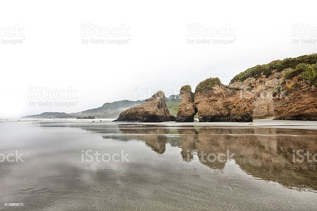 Woodpecker Bay, Footer stock photo