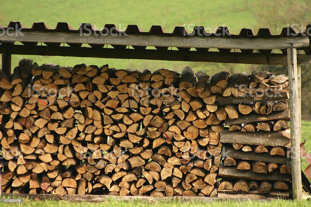 woodpile03 royalty-free stock photo