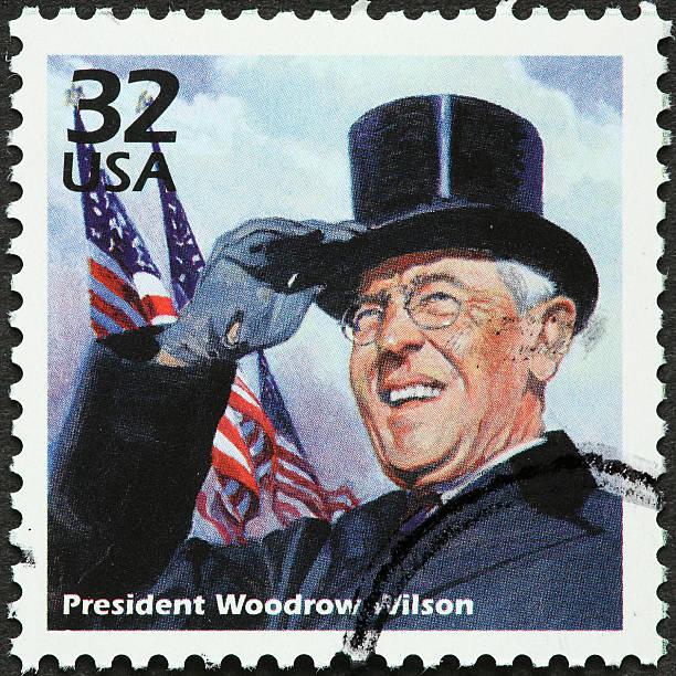 Woodrow Wilson stock photo