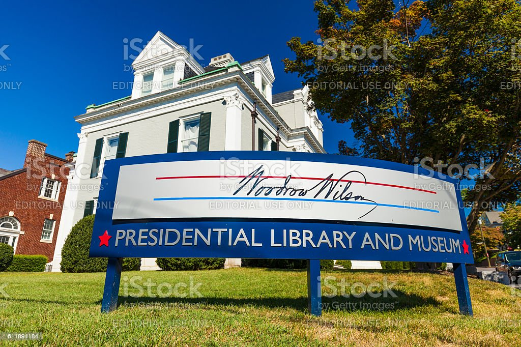 Woodrow Wilson Presidential Library And Museum In Staunton, Virginia stock photo