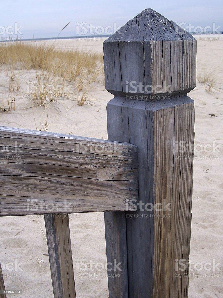 WoodSand royalty-free stock photo