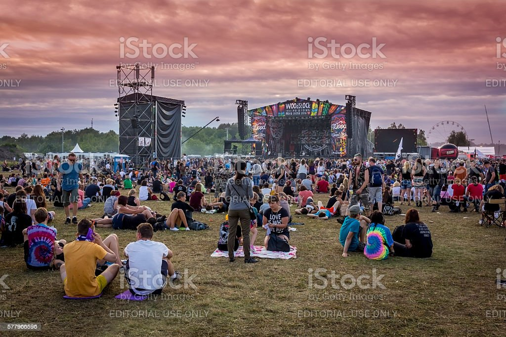 Woodstock Festival 2016, Poland stock photo