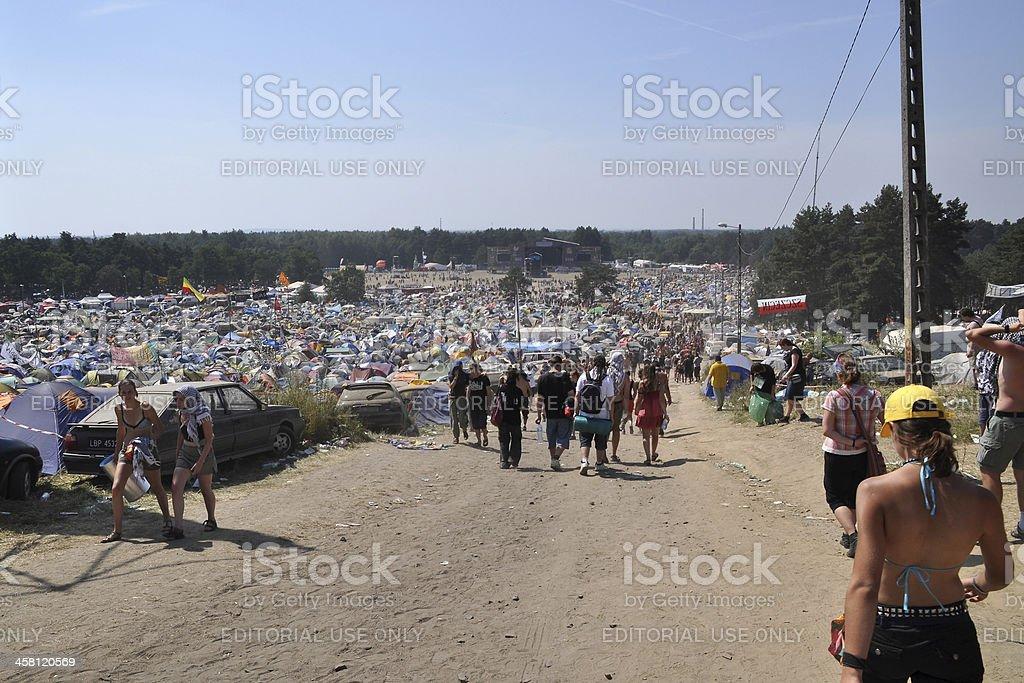 Woodstock stock photo