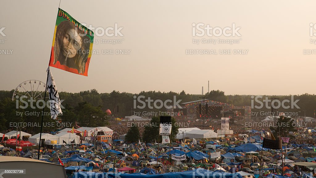 Woodstock stock photo