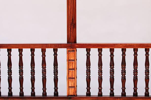 woodturning - vorbau dekor stock-fotos und bilder