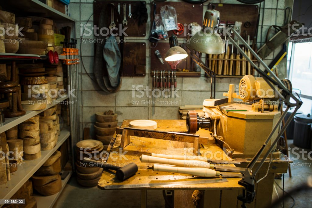 木工工匠工作場所圖像檔