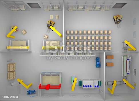 istock woodworking factory top view 900779604