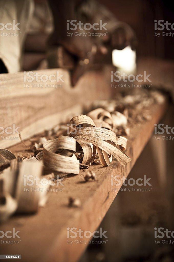 Holzarbeiten – Foto