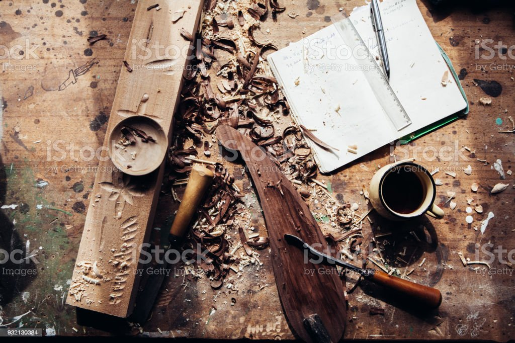 Woodworking stock photo