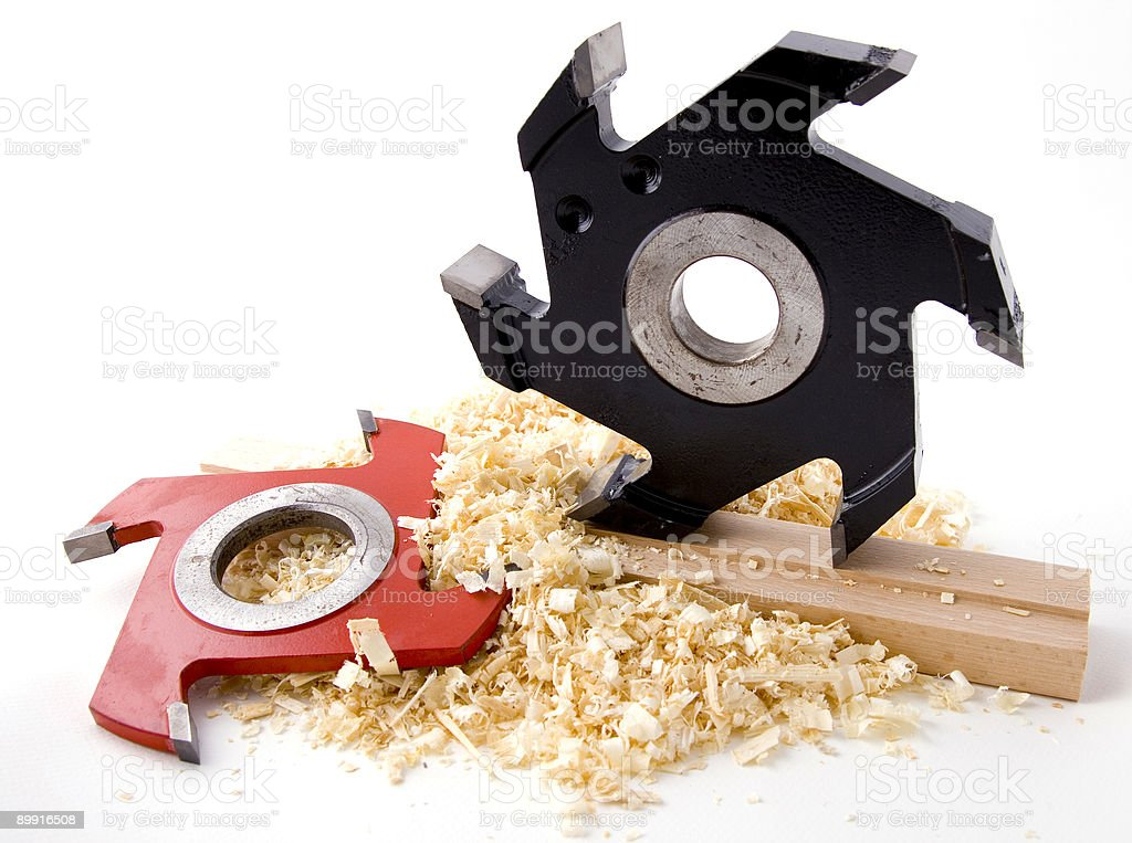 Woodworking tool royalty free stockfoto