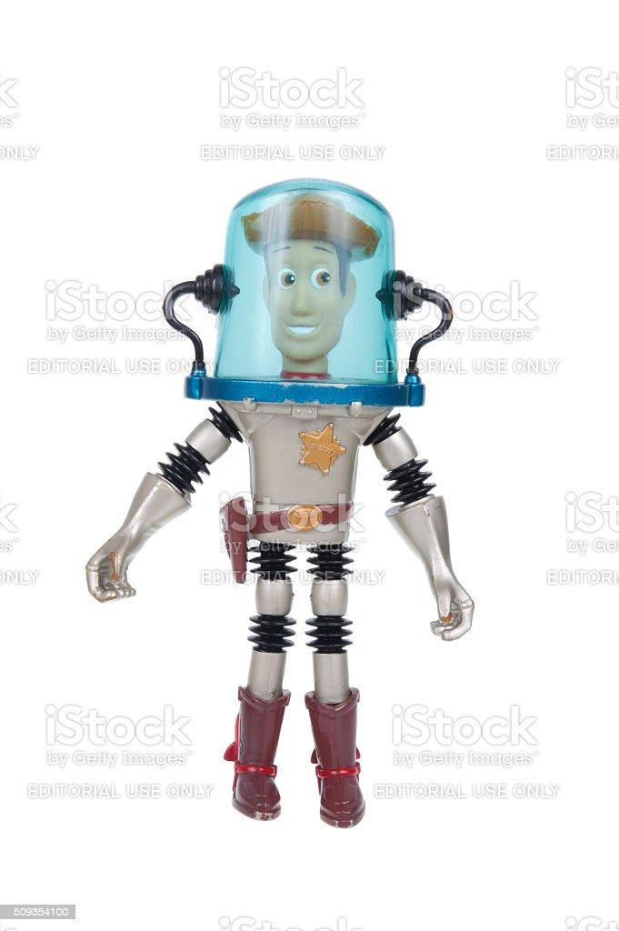 Woody Action Figure stock photo