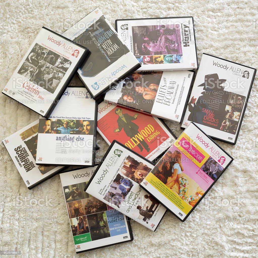 Woody Allen Movie Collection, Turkey stock photo