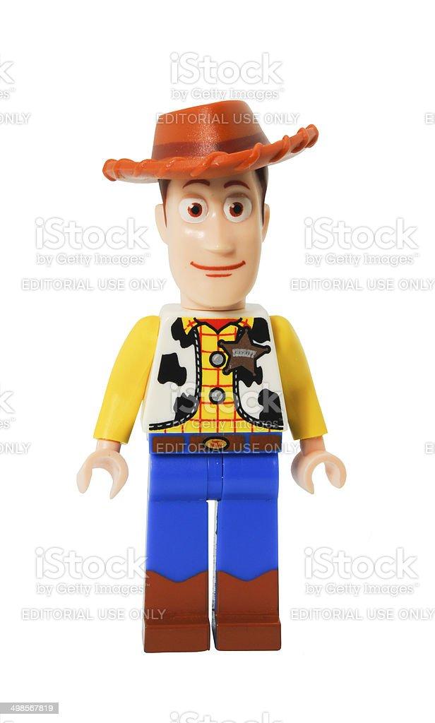 Woody Lego Minifigurine stock photo