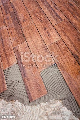 istock Woody tiles 537518301