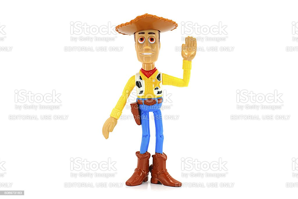 Woody toy character stock photo