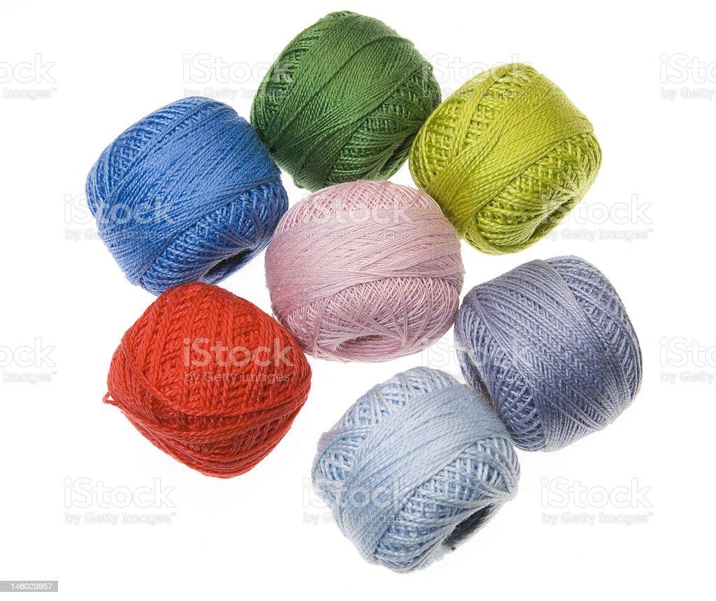 wool balls1 royalty-free stock photo