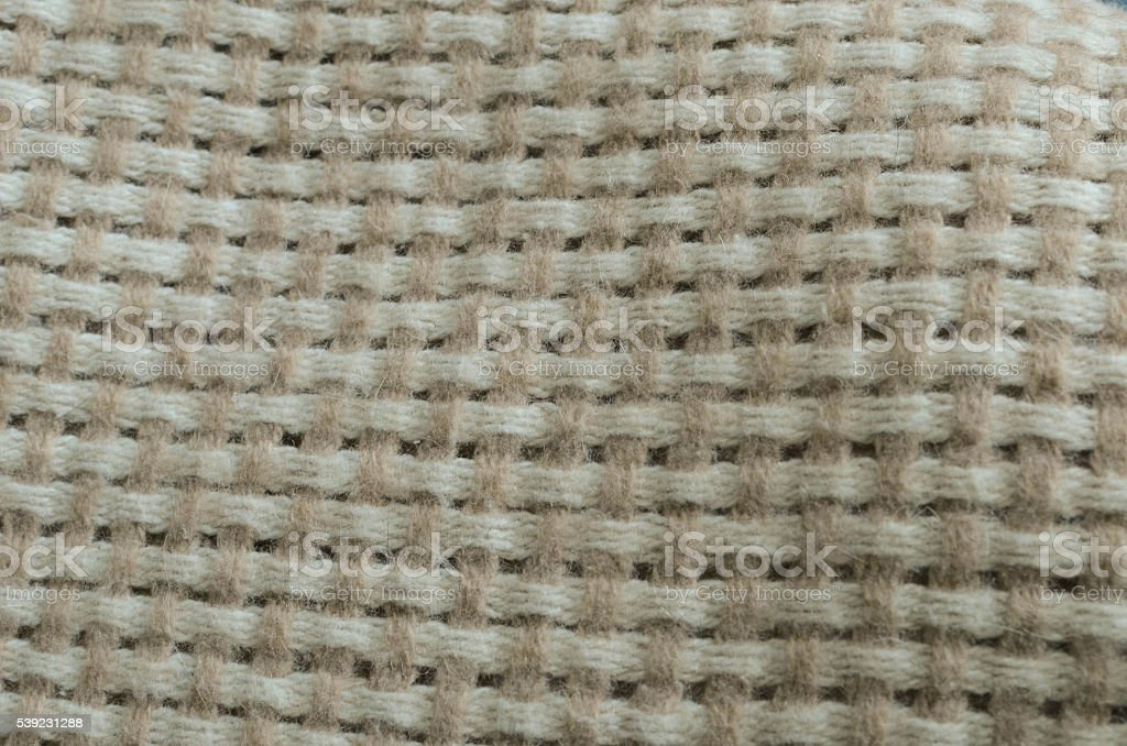 Wool blanket as texture and background royalty-free stock photo