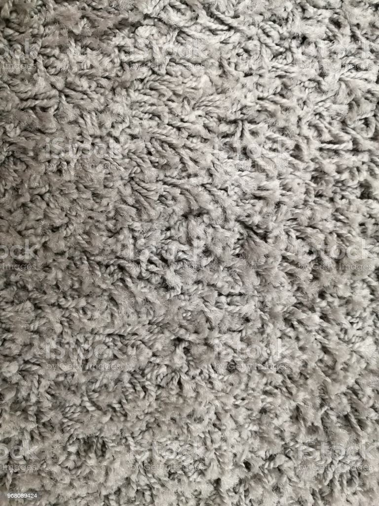 Wool Fabric Texture Background Seamless Pattern Grey Color Carpet From Above Royalty