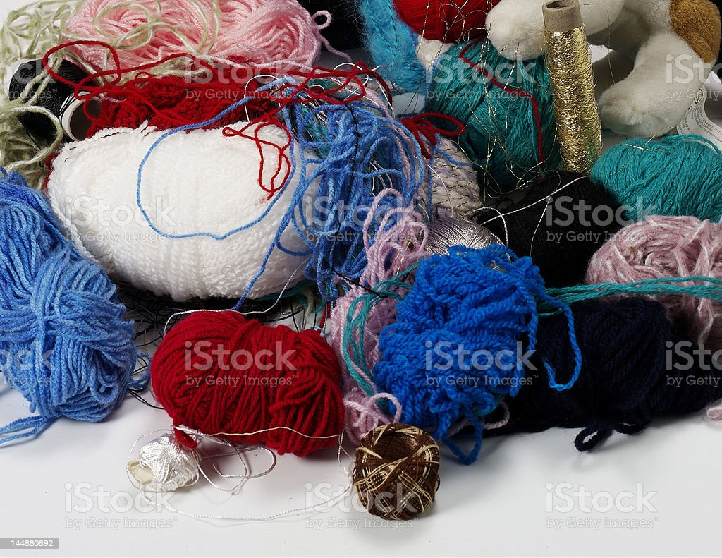 wool stock photo