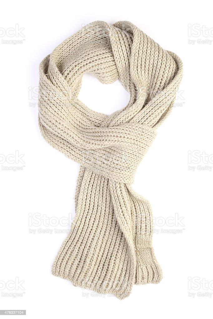 Bufanda de lana - foto de stock