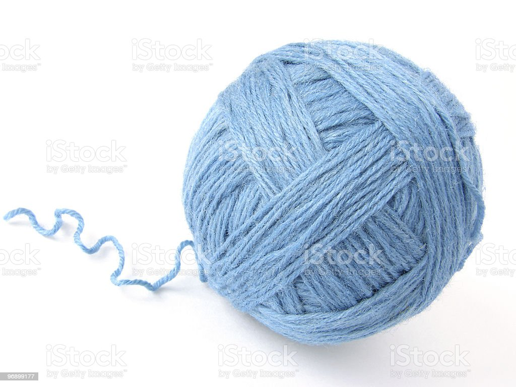wool skein royalty-free stock photo