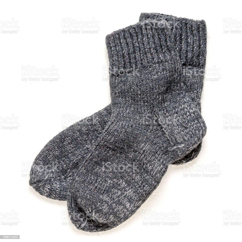 wool socks stock photo