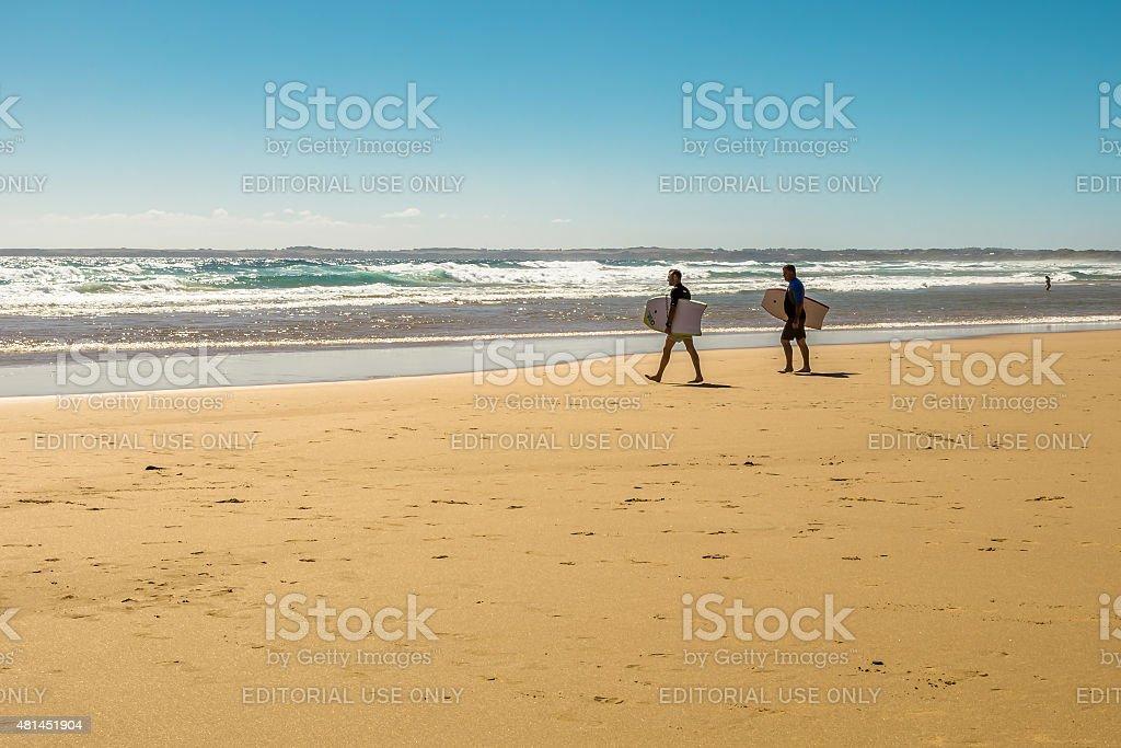 Woolamai Beach stock photo