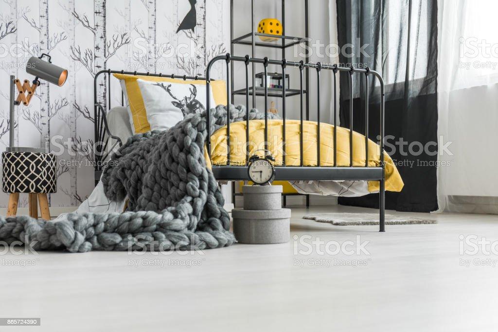 Woolen handmade blanket