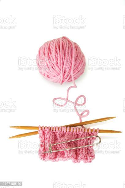 Woolen pink skein and knitting isolated on white picture id1127109191?b=1&k=6&m=1127109191&s=612x612&h=6xlwd1oukx77fcypec660mfbxpvgikz vn6ht8n4w8i=