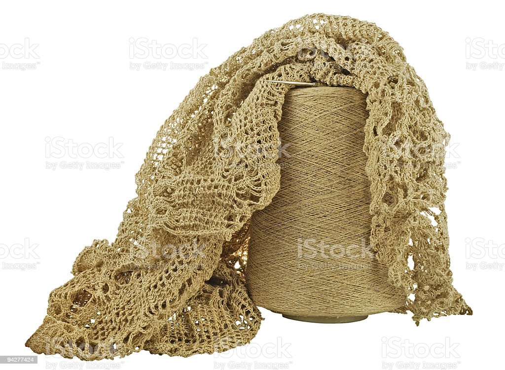 woolen threads royalty-free stock photo