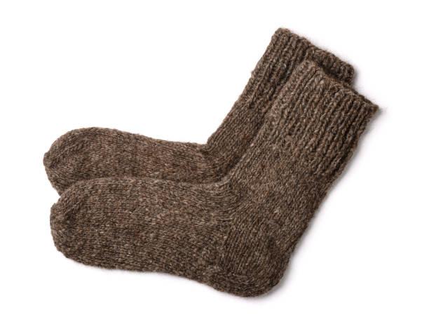 wollen sokken - wollig stockfoto's en -beelden