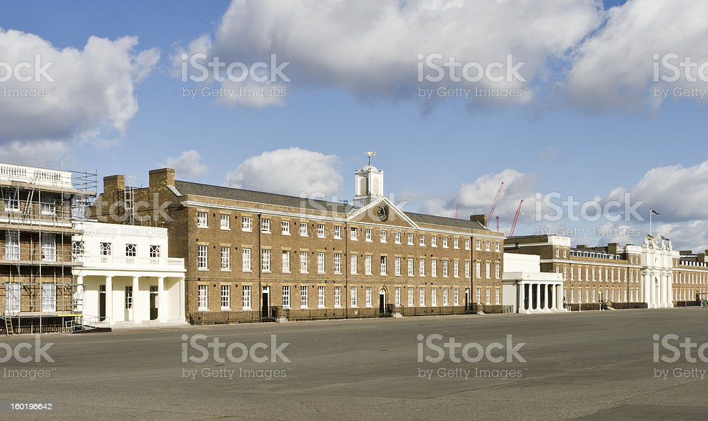 Woolwich Army Barracks stock photo