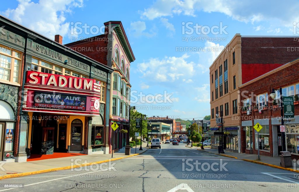 Woonsocket, Rhode island royalty-free stock photo