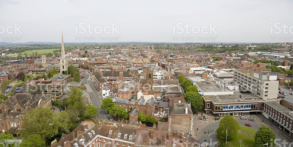 Worcester England royalty-free stock photo