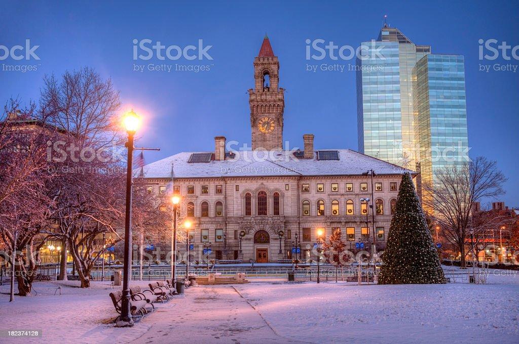 Worcester, Massachusetts royalty-free stock photo