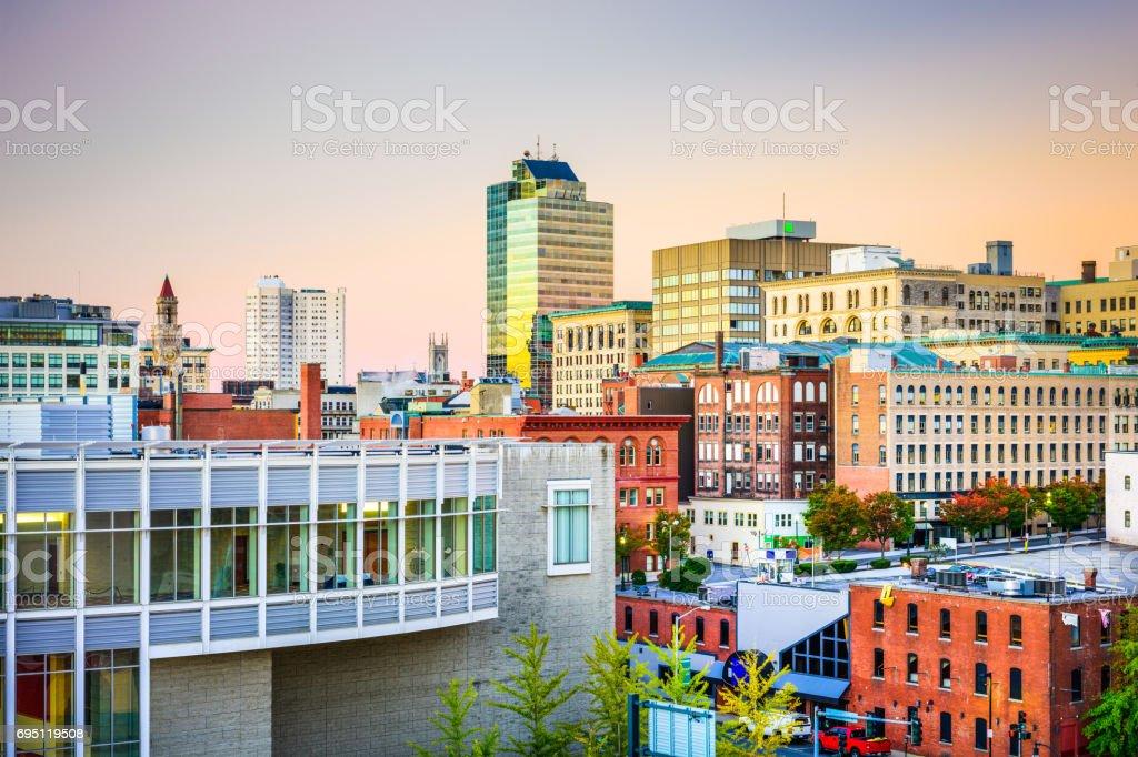 Worcester, Massachusetts, USA stock photo