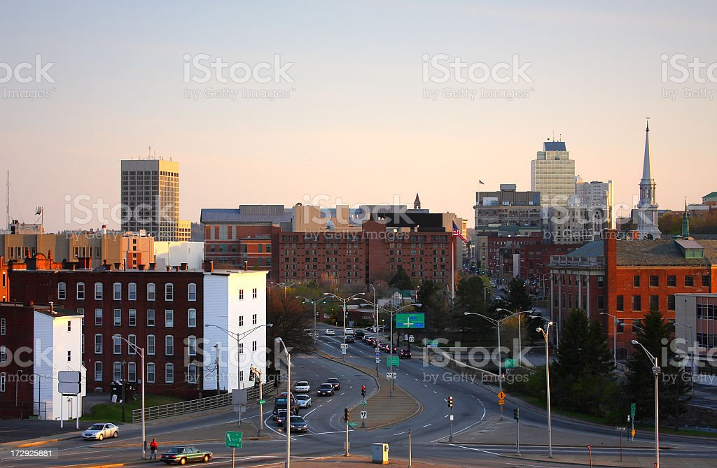 Worcester stock photo