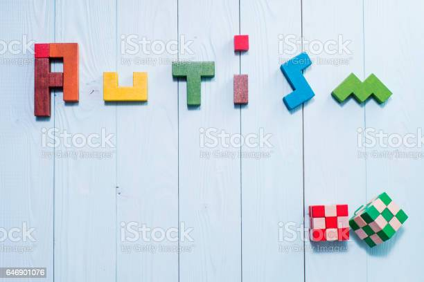 Word autism built of colorful wooden blocks on wooden background picture id646901076?b=1&k=6&m=646901076&s=612x612&h=xpjcrb15weyzo8hagqtm6psds05yxxkjlaif n dqio=